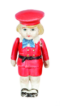 Buster Brown bisque doll
