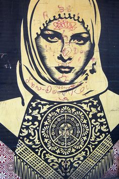 Obey Giant Campaign by Shepard Fairy