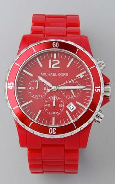 Love rosy red watch