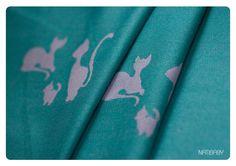 NATIBABY Cats turquoise / heather (GOT IT)