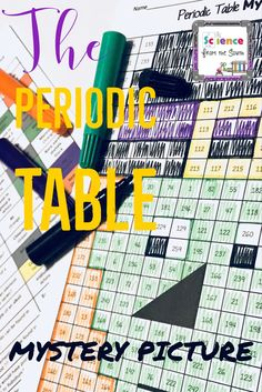 This is a worksheet that goes with the beautifully illustrated fun review of the periodic table urtaz Images