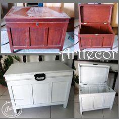 Serviços ARTTECOR pintura baú em laca provençal! novo puxador e amortecedores para a tampa!   arttecor@terra.com.br WWW.ARTTECOR.COM.BR facebook: https://www.facebook.com/arttecor/