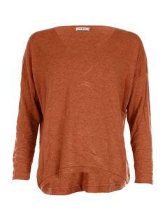 Round Seam Neck Rust - Jenterommet Rust, Pullover, Sweaters, Black, Fashion, Moda, Black People, Fashion Styles, Sweater