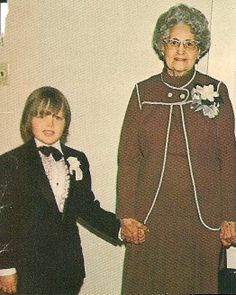 Jimmy & Grandma @ the Reception Wedding of Tommy's 1st Marriage to Lovely Lyn Donny Osmond, Marie Osmond, Osmond Family, The Osmonds, Family Boards, Natalie Wood, Music Like, Rare Pictures, Wedding Receptions