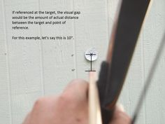 Explains aiming techniques for recurve.
