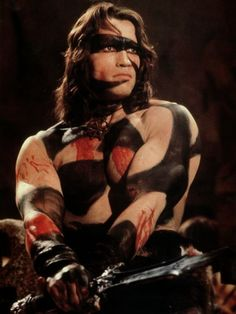 Arnold Schwarzenegger as Conan the Barbarian (1982)