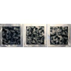 63% OFF Minimalist Wall Art  'Slate Essence'  38x12 by ModernCrowd