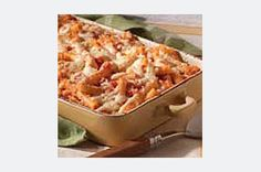 Classic Baked Ziti. I'm so glad I found this easy recipe that I used to make a lot back in college. I've been asked to add this to next week's menu already. :)  10/10