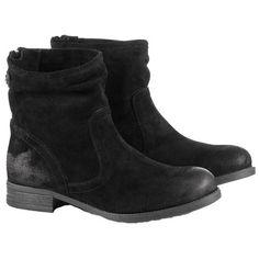Schwarze #Stiefeletten im Used Look, perfekt für Dein neues Herbstoutfit ab 139,99€ ♥ Hier kaufen: http://stylefru.it/s924397 #boots #esprit #schuhe
