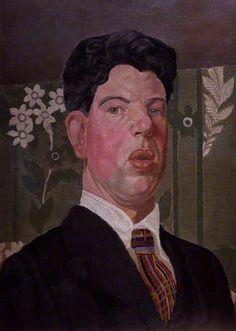 Gilbert Spencer, 1919 by Gilbert Spencer (1892-1979)