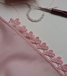 Trendy Ideas For Crochet Edging Ideas - Diy Crafts Crochet Edging Patterns, Crochet Lace Edging, Crochet Borders, Freeform Crochet, Cotton Crochet, Crochet Shawl, Crochet Designs, Crochet Flowers, Crochet Stitches