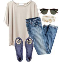 Designer Clothes, Shoes & Bags for Women Korea Summer Fashion, Summer Fashion For Teens, Summer Fashion Trends, Summer Fashion Outfits, Fashion Night, Fashion 2020, Fashion Pants, Jean Outfits, Cool Outfits