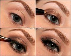 Tutorial: Bronze Smokey Eyes in 5 Minuten
