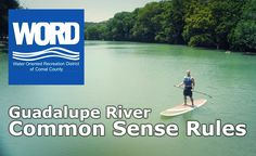 Water Oriented Recreation District (WORD) of Comal County encompasses Canyon Lake and over 30 miles of floatable river. Know the rules to ensure a fun-filled time! Guadalupe River, Canyon Lake, Texas, Words, Water, Fun, Gripe Water, Texas Travel, Horse