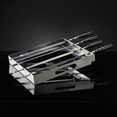 Napoleon PRO Series Stainless Steel Rotating Skewer Rack - 70014