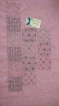 Kutch Work, Running Stitch, Hand Embroidery, Stitching, Quilts, Blanket, Blouse, Crafts, Costura