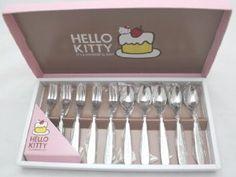Sweet Tea Set!! #hellokitty #style #furniture #homedecore #girls #kitchen #teaset