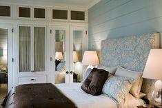 closet space in bedroom