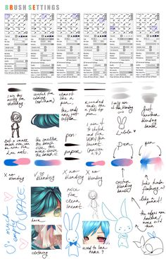 Complete Brush Settings by fuutto.deviantart.com on @deviantART