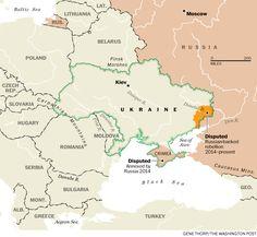 Ukraine -present day 2015