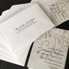 Free Guest Addressing!  The American Wedding www.theamericanwedding.com