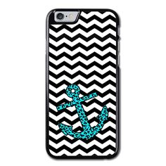 Mint Leopard Anchor Phonecase for iPhone 6/6S Plus