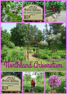 Northland Arboretum in Brainerd, MN - fun space in Minnesota that includes a secret garden and an trail with exercise equipment