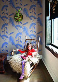 Dschungel Kindertapete  - Kinderzimmer gestalten
