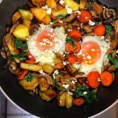 Healthy Eating Recipes, Healthy Meal Prep, Vegetarian Recipes, Cooking Recipes, Diet Recipes, Romanian Food, Vegan, Soul Food, Vegetable Recipes