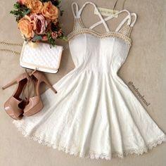 Vestido Larissa  Jacquard Premium C/ BOJO  (COR Off White)