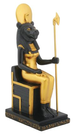 Sitting Sekhmet Collectible Figurine, Egypt >>> See this great image  : Christmas Decorations