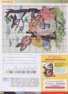 Cross-stitch Bunnies at Easter Time...   Gallery.ru / Фото #6 - №3-2004г - 123456TG