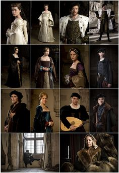 The movers and shakers of Wolf Hall.