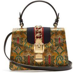 2da5c71fb98 Gucci Sylvie mini brocade shoulder bag Disclosure  Advertisement