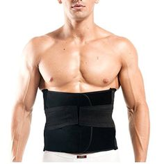 bac2d8e598a46 Healthcom Pro Men s Waist Trimmer Belt Lightweight Elastic Ajustable Sports  Belt Breathable Lumbar Lower Back Tranier Support Brace Belt Body Shaper  Weight ...