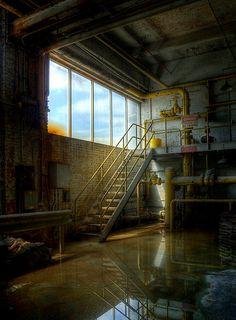 Abandoned factory.