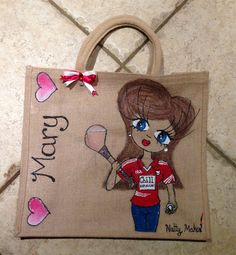 Mary! #Cork #GAA #hurling Personalised large bag for the All Ireland hurling final 2013.