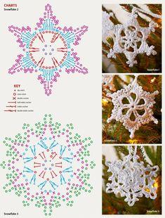 Снежинка - Вязаные елочные игрушки - Галерея - Artzacepka форум