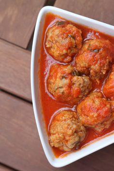 Fried meatballs with Salento sauce