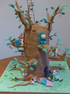The Magic Faraway tree cake with all your favourite characters!