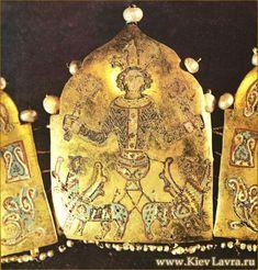 Fragment diadem with a scene of Alexander the Great Ascension. Kiev-Pechersk Lavra / www.KievLavra.ru