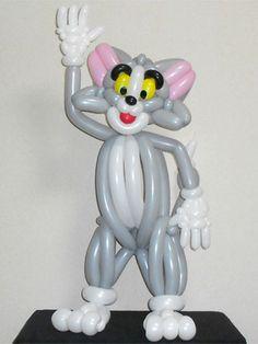 Balloon sculpture of Tom