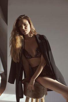 Sexy lingerie  Fashion Model Sexy Style Icon Vogue  Milan Paris