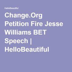 Change.Org Petition Fire Jesse Williams BET Speech | HelloBeautiful
