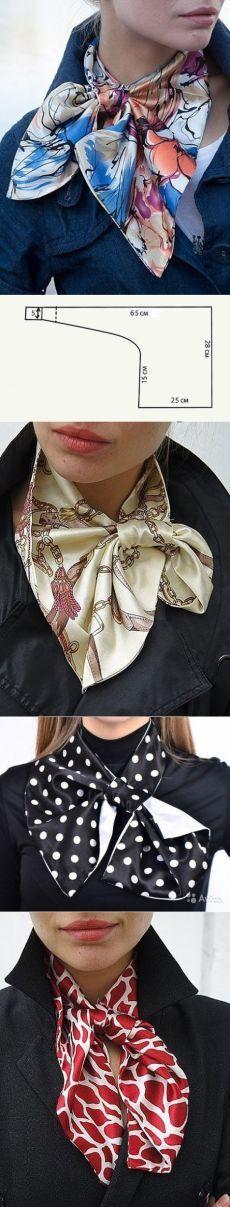 Шьем французский платок