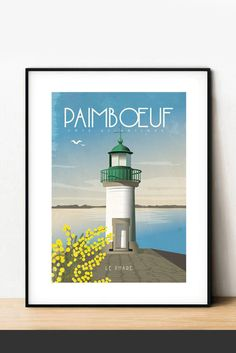 ©YohanGaborit Boutique, Poster, Lighthouse, Event Posters, Boutiques, Billboard