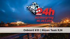 Onboard #35 / Nissan   ADAC Zurich 24h-Rennen 2016 // ADAC Zurich 24h-Rennen Onboard Kamera: Team Nissan GT Academy RJN Fahrer: Krumm, Ordonez, Hoshino, Buncombe Fahrzeug: Nissan GT-R GT3