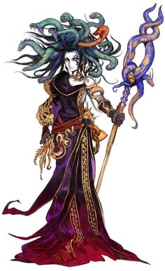 Ya Sometimes Medusa From Kid Icarus Uprising Pops In My Head