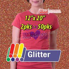 Siser Glitter Heat Transfer Vinyl, Glitter Vinyl, Siser Easyweed, 60 Degrees, Kinds Of Colors, Vinyl Signs, Vinyl Cutter, Simple House, How To Apply