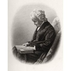 Eliza Ballou Garfield 1801 To 1888 Mother Of President James Garfield From From Log Cabin To White House By William M Thayer Published By Hodder And Stoughton 1905 Canvas Art - Ken Welsh Design Pics